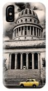 Havana El Capitolio IPhone Case