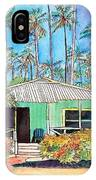 Hawaiian Cottage I IPhone Case