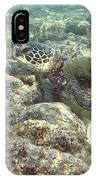 Hawaiian Green Turtle IPhone Case