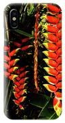 Hawaiian Heliconia IPhone Case