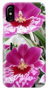 Hawaiian Orchid 5 IPhone Case