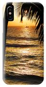 Hawaiin Sunset IPhone Case