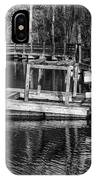Hawk Island Michigan Dock  IPhone Case