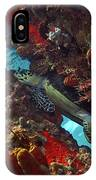 Hawksbill Sea Turtle 9 IPhone Case