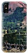 Hay Wagons IPhone Case