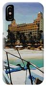 Headed For The Beach IPhone Case