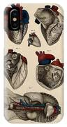 Heart, Anatomical Illustration, 1822 IPhone Case