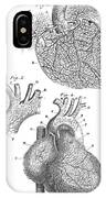 Heart Anatomy, Illustration, 1703 IPhone Case