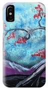 Heart Blossom IPhone Case