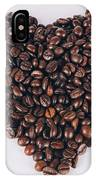 Heart Of Coffee Beans IPhone Case