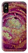 Heart Of Mystery In Red And Green IPhone Case