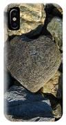 Heart Shaped Stone Loch Fyne  IPhone Case