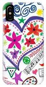 Hearts And Flowers IPhone Case