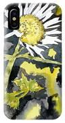 Heath Aster Flower Art Print IPhone Case