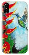 Heavenly Heliconia IPhone Case