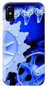 Heavy Metal In Blue IPhone Case