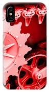 Heavy Metal In Red IPhone Case