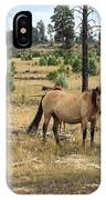 Heber Wild Horses 15 IPhone Case