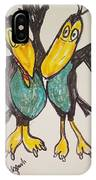 Heckle And Jeckle IPhone Case