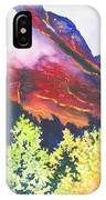 Heights Of Glacier Park IPhone Case