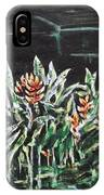Heliconia 3 IPhone Case