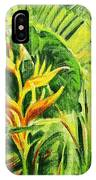 Heliconia 8 IPhone Case