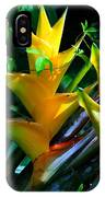 Heliconia Caribea Gold IPhone Case