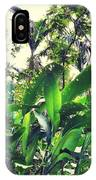 Heliconia Cluster IPhone Case