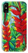 Heliconia Study IPhone Case