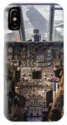 Helicopter Cockpit IPhone Case