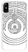 Heliocentric Universe, Thomas Digges IPhone Case