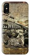Hell On Wheels IPhone Case