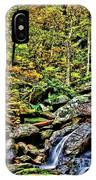 Hellbrook Cascades In Autumn IPhone Case