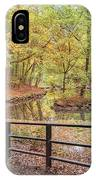 Helsingborg Jordbodalen Forest Path IPhone Case