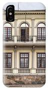 Helsingborg Old Building Facade IPhone Case