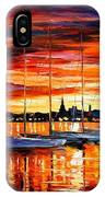 Helsinki - Sailboats At Yacht Club IPhone Case