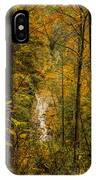Helton Falls Through The Leaves IPhone Case