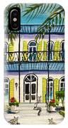Hemingway's Home Key West IPhone Case