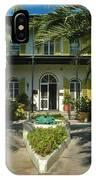 Hemingways House Key West IPhone Case