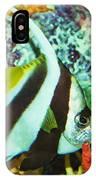 Heniochus Butterfly IPhone Case