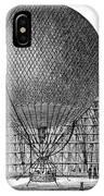 Henri Giffard: Balloon IPhone Case
