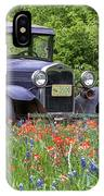 Henry The Vintage Model T Ford Automobile IPhone Case by Robert Bellomy