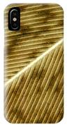 Hens Feather IPhone Case