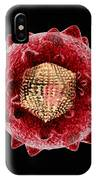 Hepatitis C Virus, Artwork IPhone Case