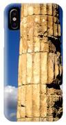 Hera Temple - Selinunte - Sicily IPhone Case by Silvia Ganora