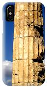 Hera Temple - Selinunte - Sicily IPhone Case