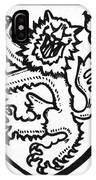 Heraldry: Lion IPhone Case