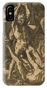 Hercules Killing Cacus IPhone Case