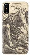 Hercules Overcoming The Nemean Lion IPhone Case