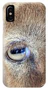 Here's Looking At You Kid - The Truth About Goats' Eyes IPhone Case